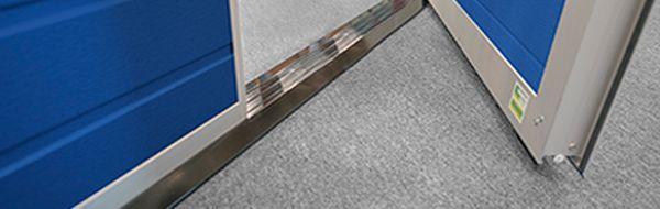Калитка Алютех с плоским порогом 18 мм