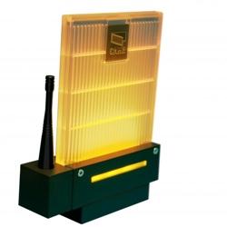 001DD-1KA Сигнальная лампа универсальная, янтарного цвета. Новый дизайн