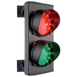 C0000710 Светофор светодиодный, 2-секционный, красный-зелёный, 24 В