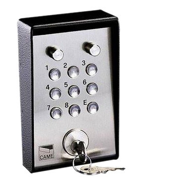 001S5000 Клавиатура кодовая с ключом и подсветкой