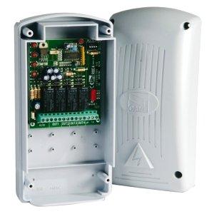 Радиоприемник 001RE862 2-х канальный в корпусе, универсальный частота 868,35 совместим с пультами Came
