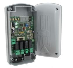Радиоприемник 001RE432RC 2-х канальный в корпусе, универсальный с динамическим кодом для пультов Came 001AT02EV, 001AT04EV