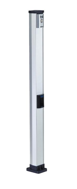 Стойка высокая двойная 1115 мм для устройств управления и безопасности