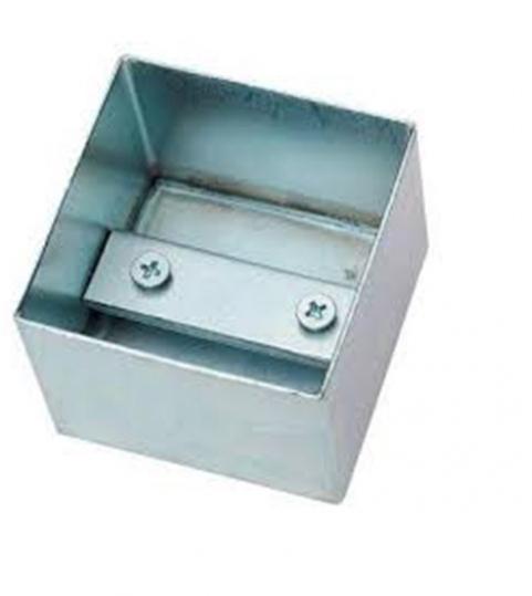 Коробка стальная приварная для монтажа устройств управления и безопасности, например FAAC SWITCH