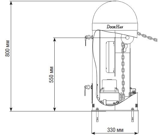 DoorHan –  цепные шлагбаумы Chain-Barrier