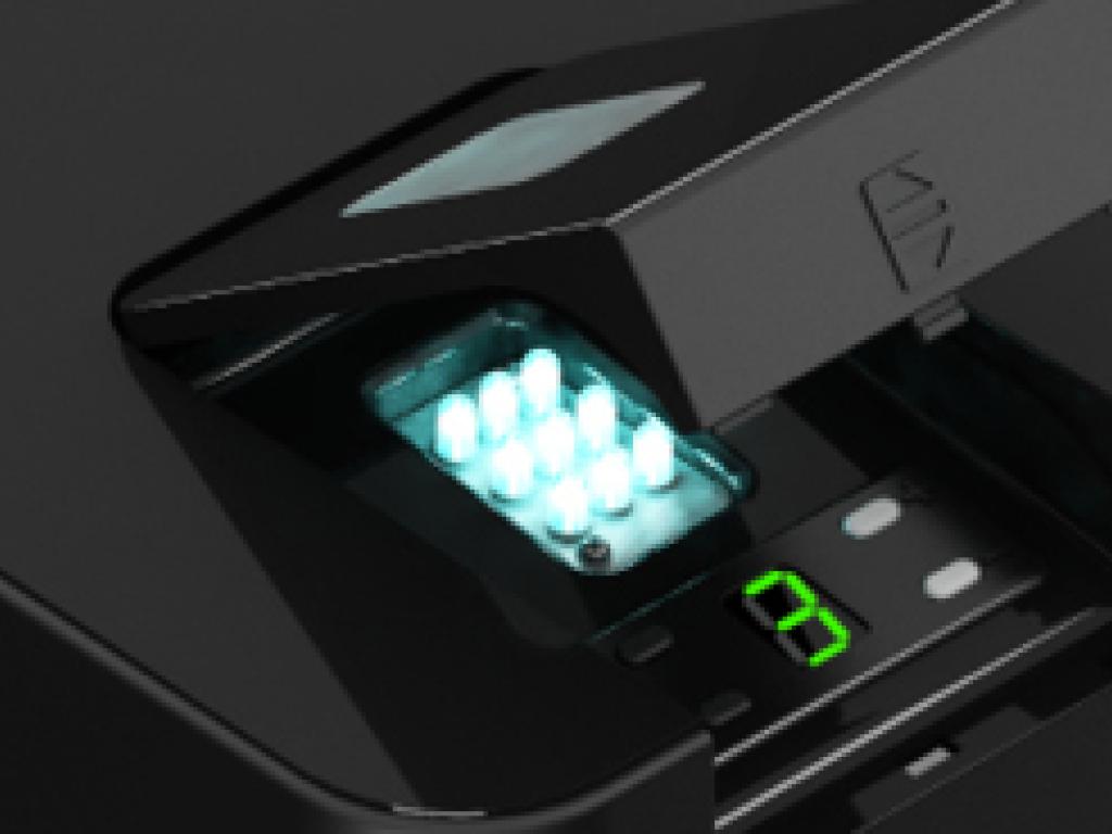 В приводе Sectional-1000PRO реализована светодиодная система освещения, которая позволяет экономить электроэнергию