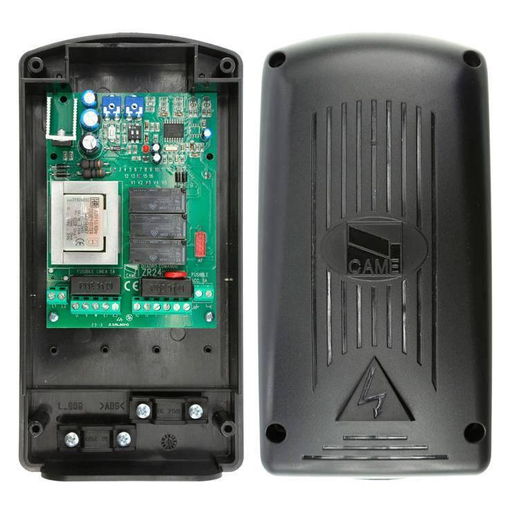 Блок управления ZR24 для одного привода с питанием двигателя 220В.