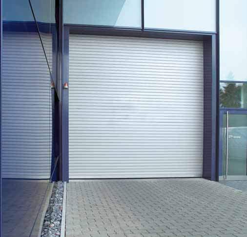 рулонные ворота hormann фото