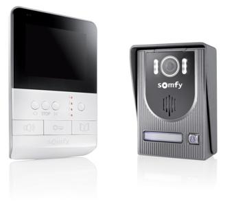 Видеодомофон V100 Plug&Play компании Somfy