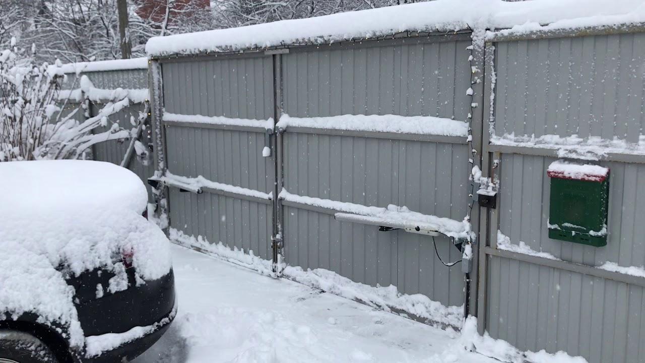 Эксплуатация SGS в зимних условиях
