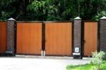 Распашные сварные ворота